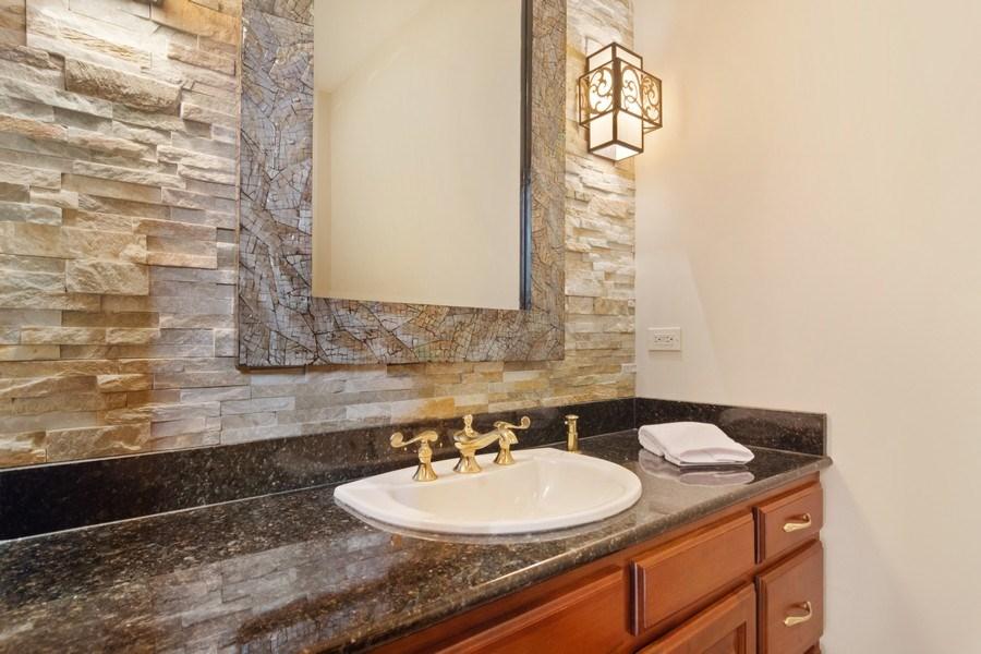 Real Estate Photography - 6231 Pine Tree Ct., Long Grove, IL, 60047 - Half Bath