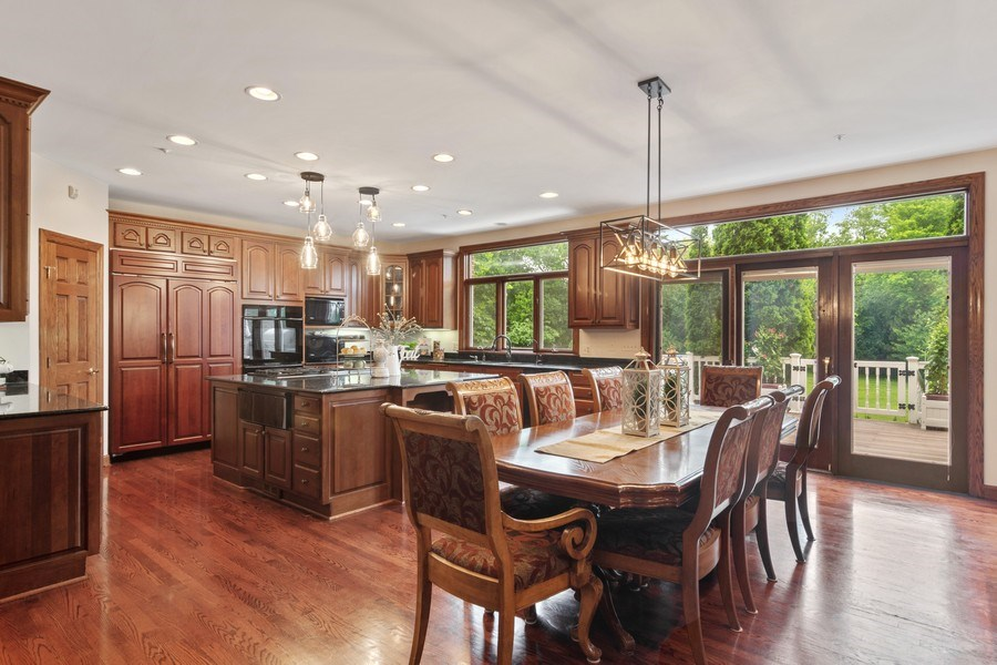Real Estate Photography - 6231 Pine Tree Ct., Long Grove, IL, 60047 - Breakfast Nook