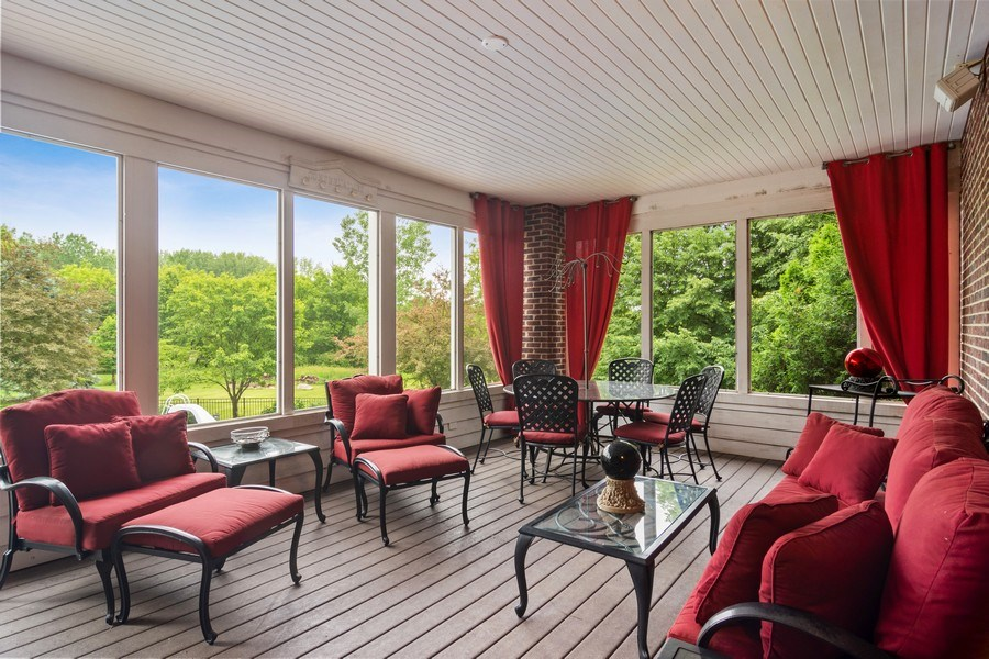 Real Estate Photography - 6231 Pine Tree Ct., Long Grove, IL, 60047 - Sun Room