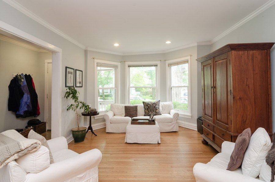 Real Estate Photography - 2022 colfax, evanston, IL, 60201 - Living Room