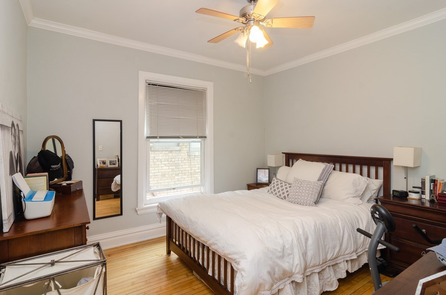 Real Estate Photography - 2022 colfax, evanston, IL, 60201 - 2nd Bedroom