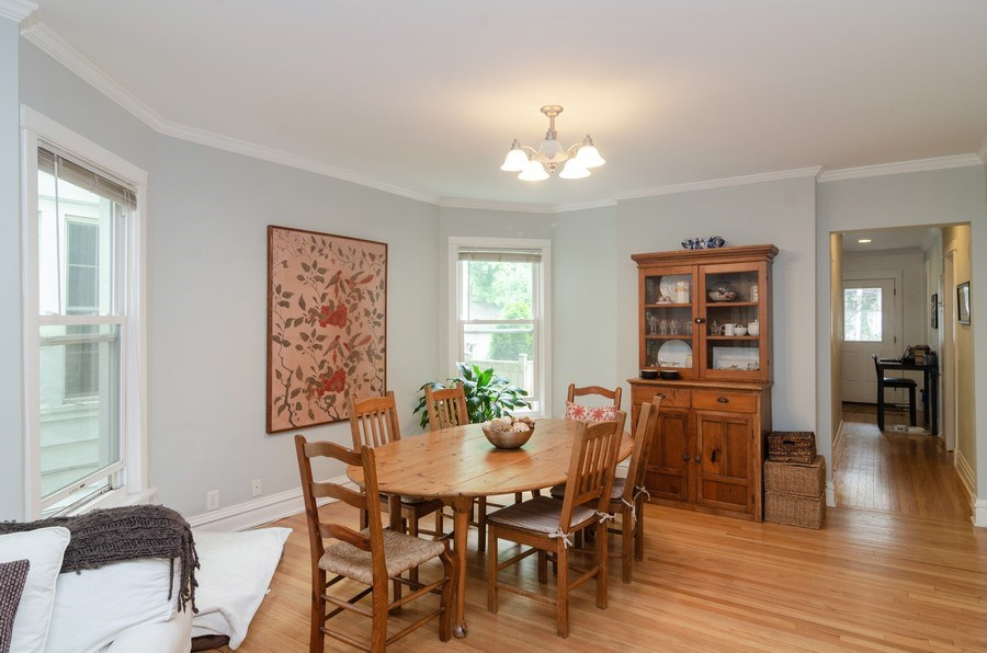 Real Estate Photography - 2022 colfax, evanston, IL, 60201 - Dining Room
