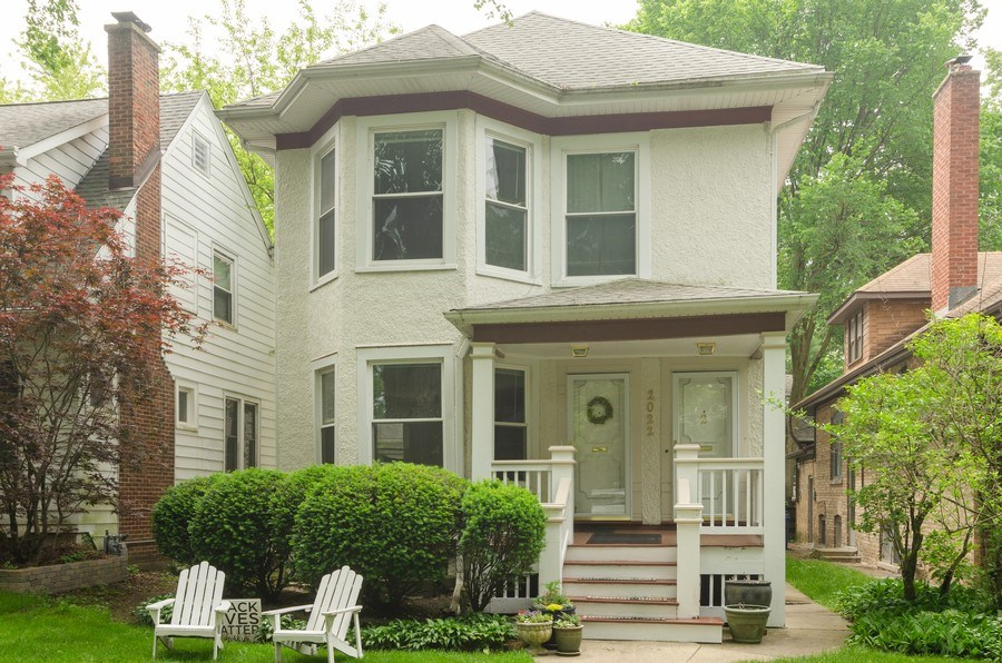 Real Estate Photography - 2022 colfax, evanston, IL, 60201 - Front View