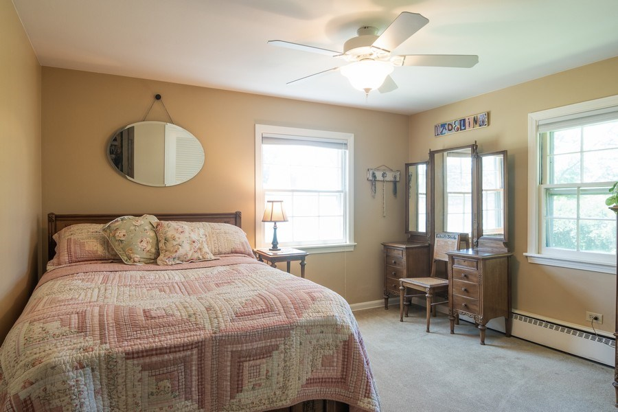Real Estate Photography - 3314 Bellwood, Glenview, IL, 60026 - 3rd Bedroom