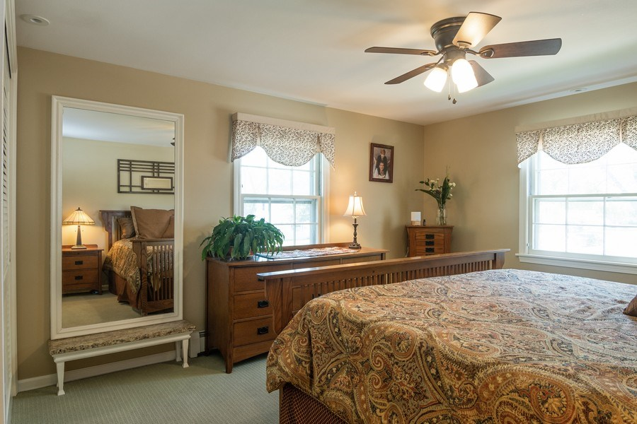 Real Estate Photography - 3314 Bellwood, Glenview, IL, 60026 - Master Bedroom
