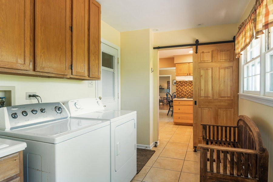 Real Estate Photography - 3314 Bellwood, Glenview, IL, 60026 - Laundry/Mudroom