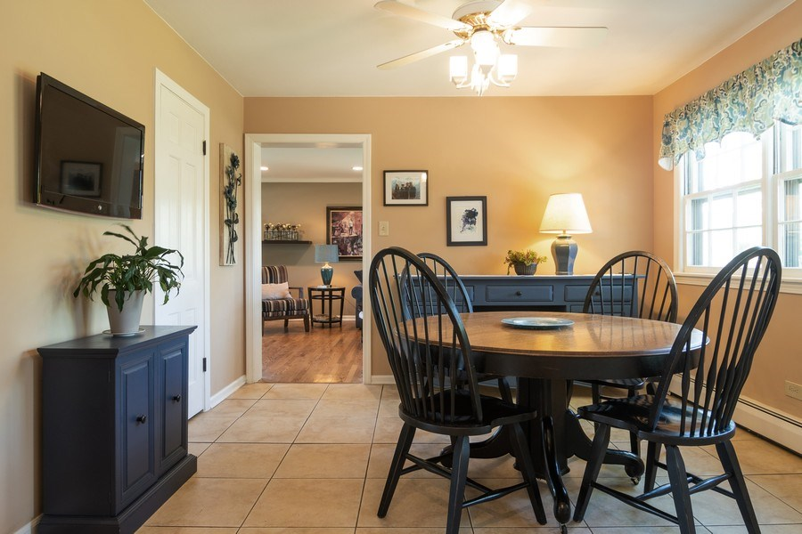 Real Estate Photography - 3314 Bellwood, Glenview, IL, 60026 - Breakfast Room
