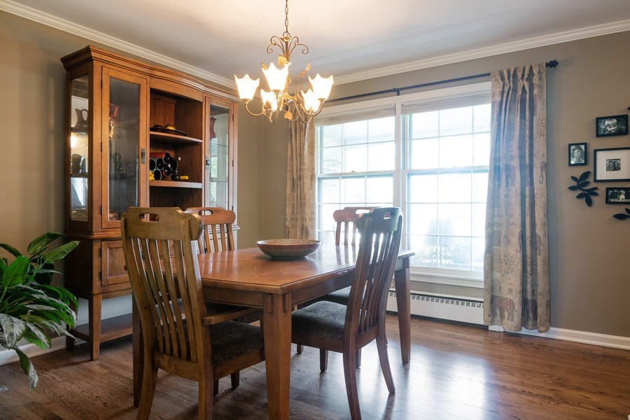 Real Estate Photography - 3314 Bellwood, Glenview, IL, 60026 - Dining Room