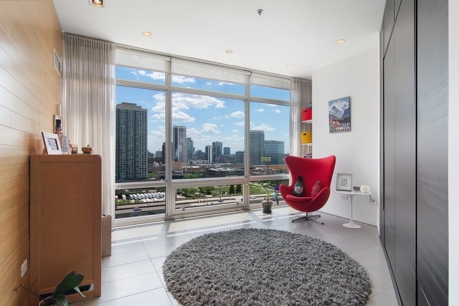 Real Estate Photography - 510 W Erie, #1301, Chicago, IL, 60654 - 2nd Bedroom