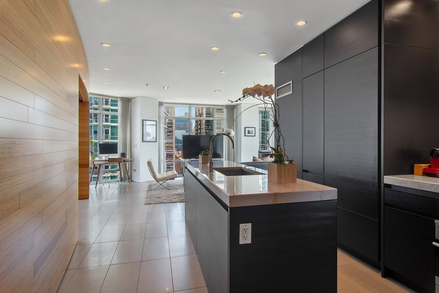 Real Estate Photography - 510 W Erie, #1301, Chicago, IL, 60654 - Kitchen