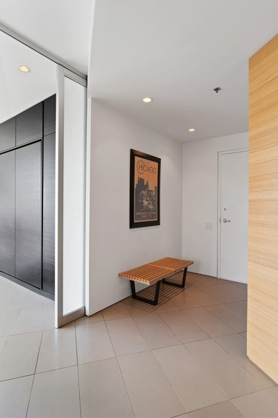Real Estate Photography - 510 W Erie, #1301, Chicago, IL, 60654 - Foyer