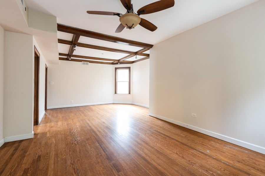 Real Estate Photography - 4027 N. Kilbourn Ave., Chicago, IL, 60641 - Living Room