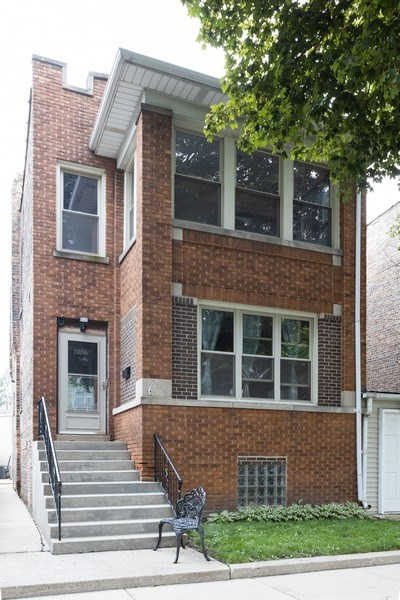 Real Estate Photography - 4027 N. Kilbourn Ave., Chicago, IL, 60641 - Front View