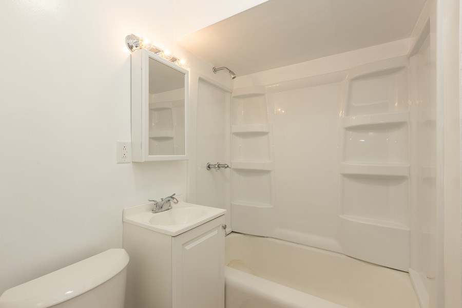 Real Estate Photography - 4027 N. Kilbourn Ave., Chicago, IL, 60641 - Bathroom