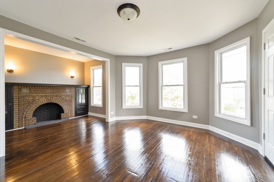 Real Estate Photography - 618 N Lotus Avenue, Chicago, IL, 60644 - Living Room