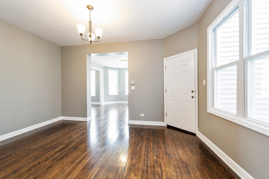 Real Estate Photography - 618 N Lotus Avenue, Chicago, IL, 60644 - Dining Room