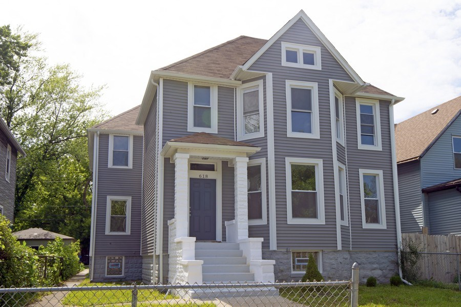 Real Estate Photography - 618 N Lotus Avenue, Chicago, IL, 60644 - Front View