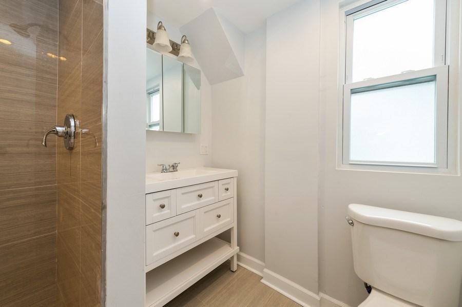 Real Estate Photography - 618 N Lotus Avenue, Chicago, IL, 60644 - Bathroom