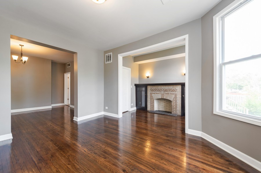 Real Estate Photography - 618 N Lotus Avenue, Chicago, IL, 60644 - Living Room/Dining Room