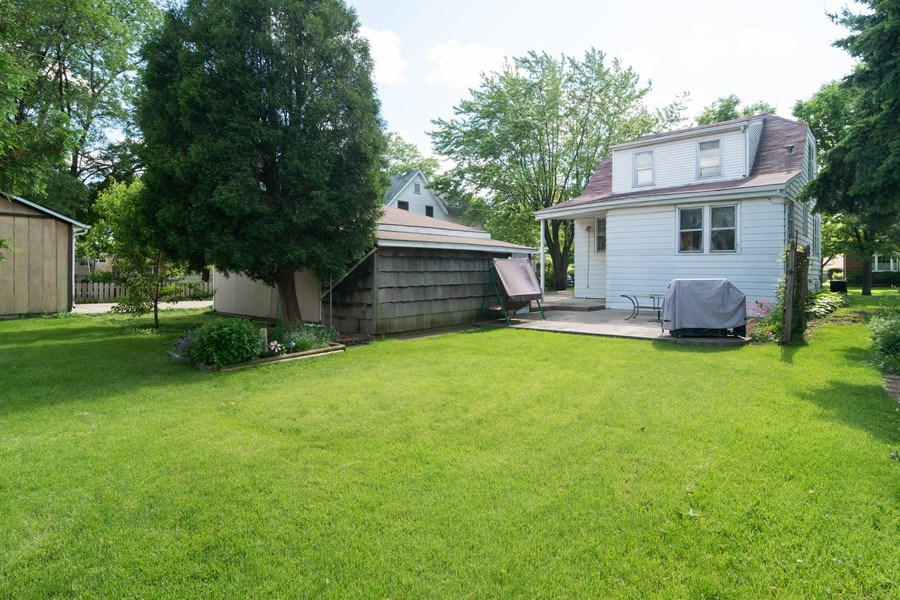 Real Estate Photography - 3933 Arthur Ave, Brookfield, IL, 60513 - Rear View