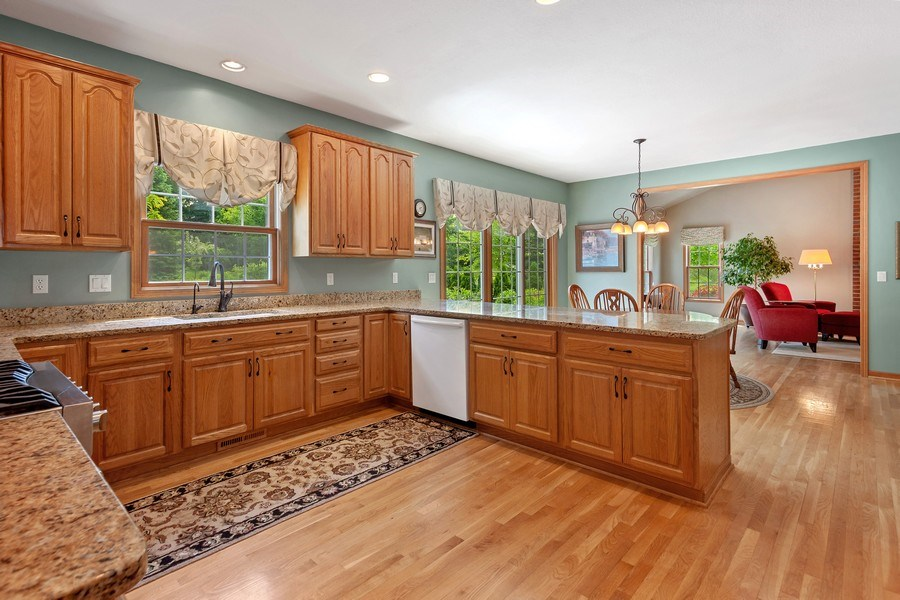 Real Estate Photography - 7005 W Lafayette PL, Mequon, WI, 53092 - Kitchen
