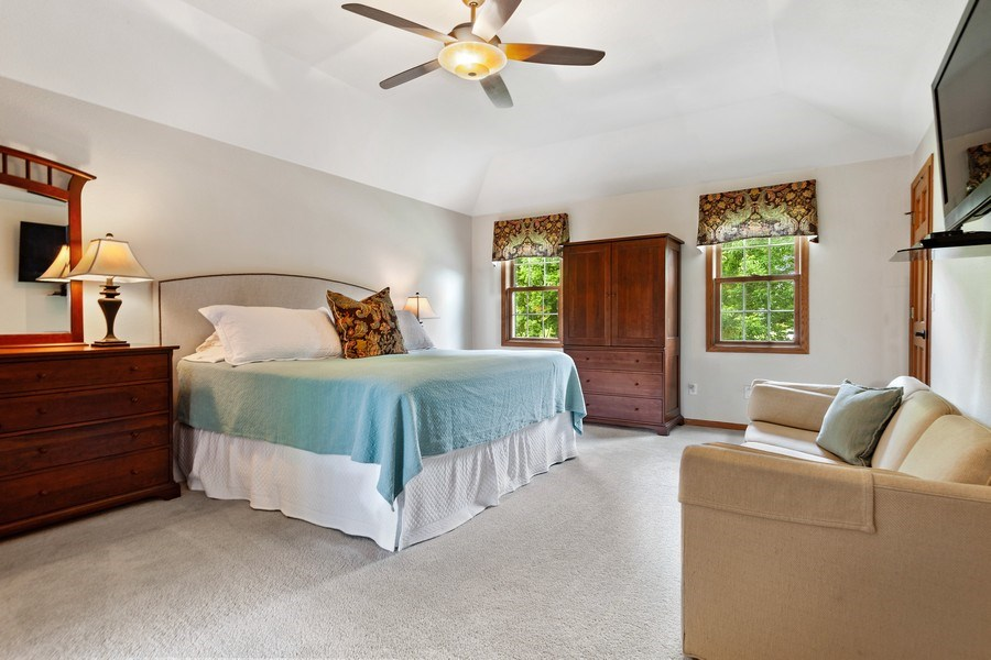 Real Estate Photography - 7005 W Lafayette PL, Mequon, WI, 53092 - Master Bedroom