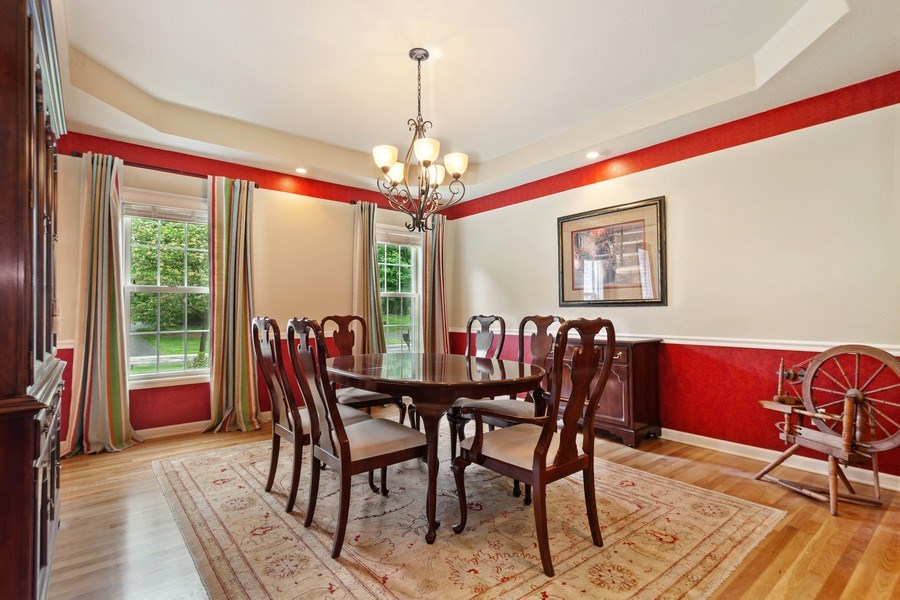 Real Estate Photography - 7005 W Lafayette PL, Mequon, WI, 53092 - Dining Room