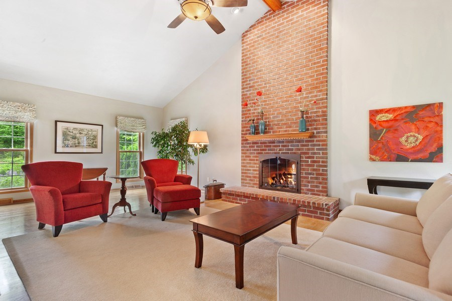 Real Estate Photography - 7005 W Lafayette PL, Mequon, WI, 53092 - Family Room