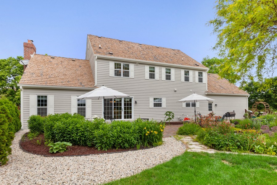 Real Estate Photography - 7005 W Lafayette PL, Mequon, WI, 53092 - Rear View