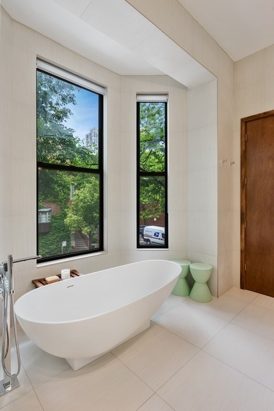 Real Estate Photography - 1858 North Sedgwick, Chicago, IL, 60614 - Master Bathroom