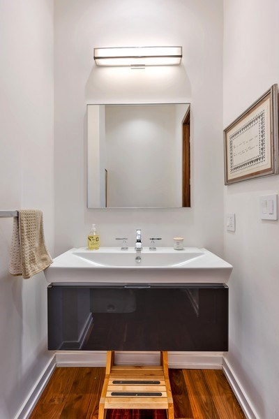Real Estate Photography - 1858 North Sedgwick, Chicago, IL, 60614 - Powder Room