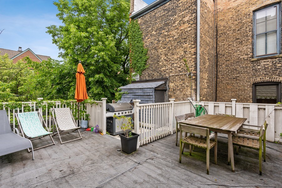Real Estate Photography - 1858 North Sedgwick, Chicago, IL, 60614 - Deck