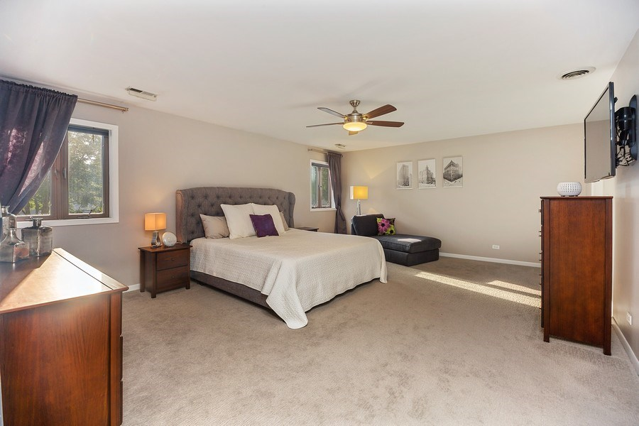 Real Estate Photography - 2055 Sherwin Ave, Des Plains, IL, 60018 - Master Bedroom