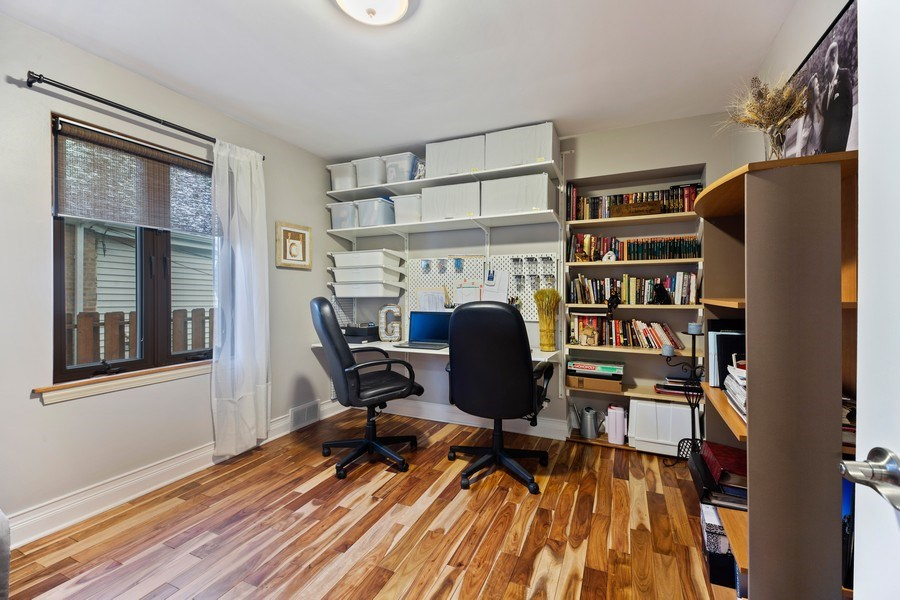 Real Estate Photography - 2055 Sherwin Ave, Des Plains, IL, 60018 - Office