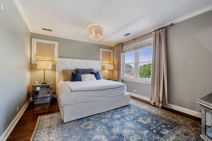 Real Estate Photography - 1368 N. Mohawk St., #3S, Chicago, IL, 60610 - Master Bedroom