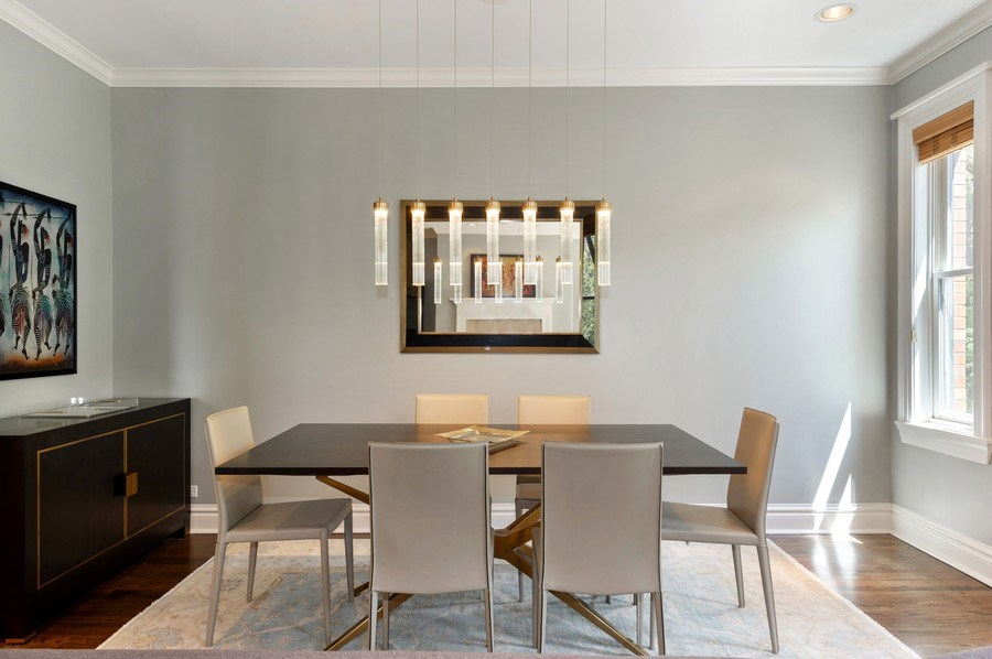 Real Estate Photography - 1368 N. Mohawk St., #3S, Chicago, IL, 60610 - Dining Room