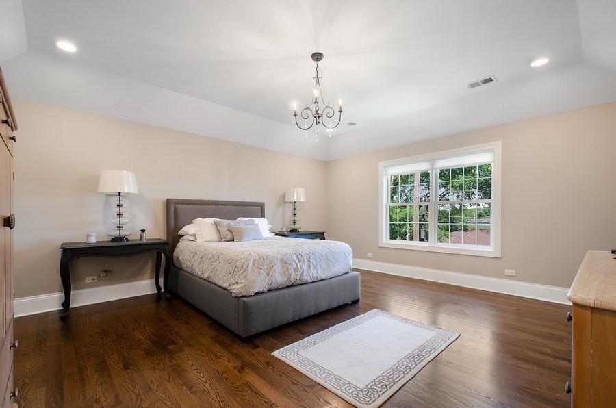 Real Estate Photography - 7052 Palma Ln, Morton Grove, IL, 60053 - Master Bedroom