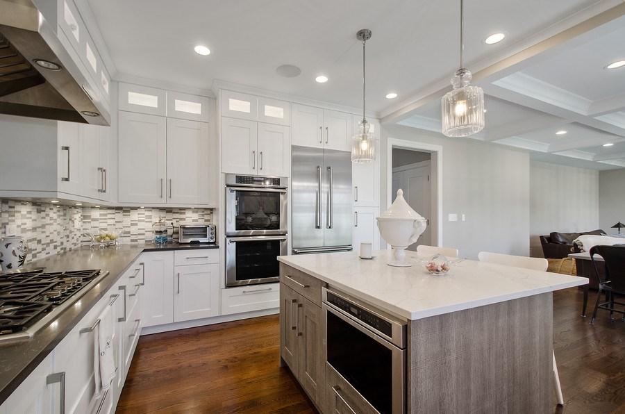 Real Estate Photography - 7052 Palma Ln, Morton Grove, IL, 60053 - Kitchen