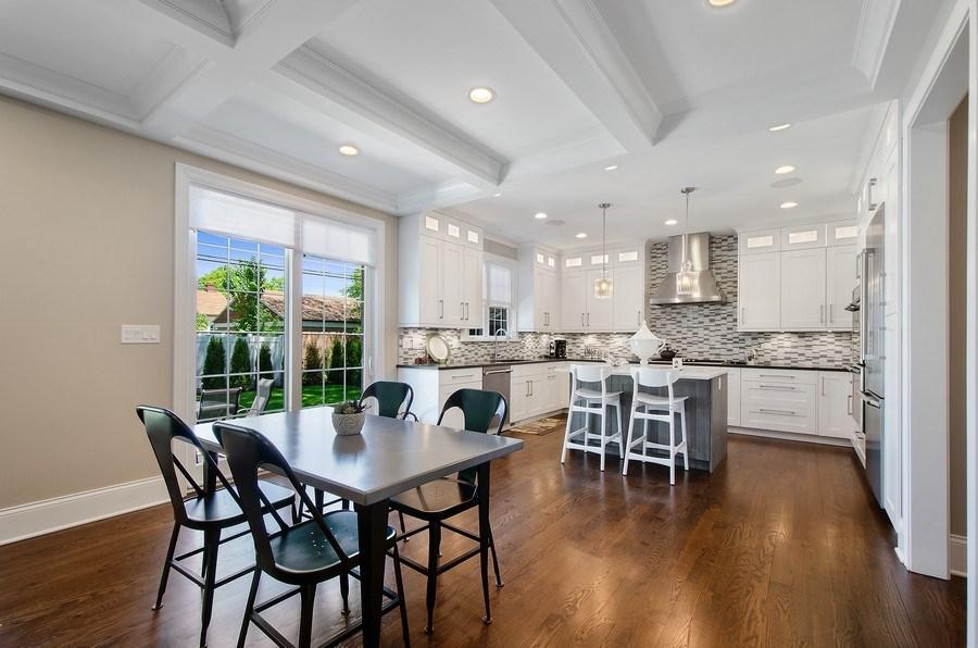 Real Estate Photography - 7052 Palma Ln, Morton Grove, IL, 60053 - Kitchen / Breakfast Room