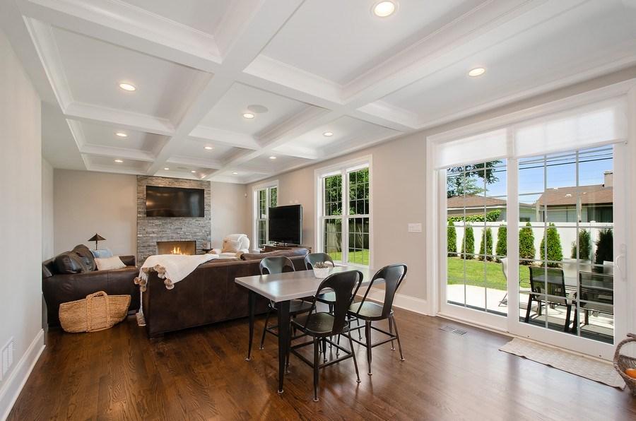 Real Estate Photography - 7052 Palma Ln, Morton Grove, IL, 60053 - Family Room