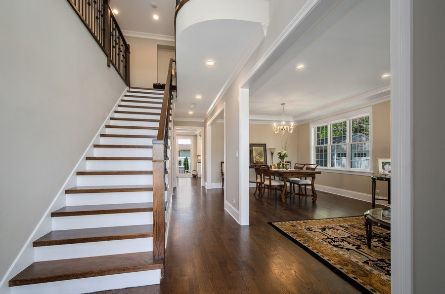 Real Estate Photography - 7052 Palma Ln, Morton Grove, IL, 60053 - Foyer