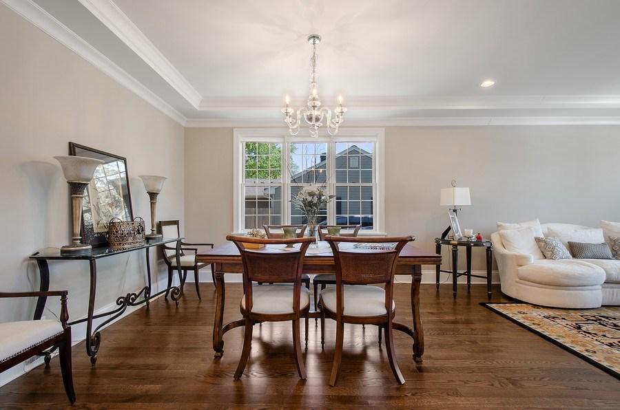 Real Estate Photography - 7052 Palma Ln, Morton Grove, IL, 60053 - Dining Room