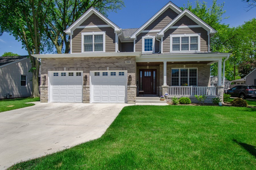 Real Estate Photography - 7052 Palma Ln, Morton Grove, IL, 60053 - Front View