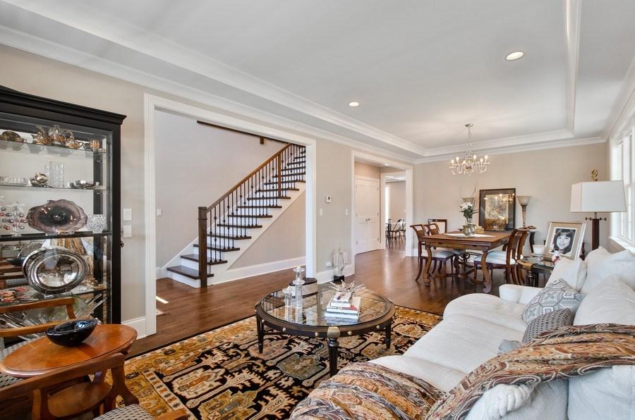 Real Estate Photography - 7052 Palma Ln, Morton Grove, IL, 60053 - Living Room/Dining Room