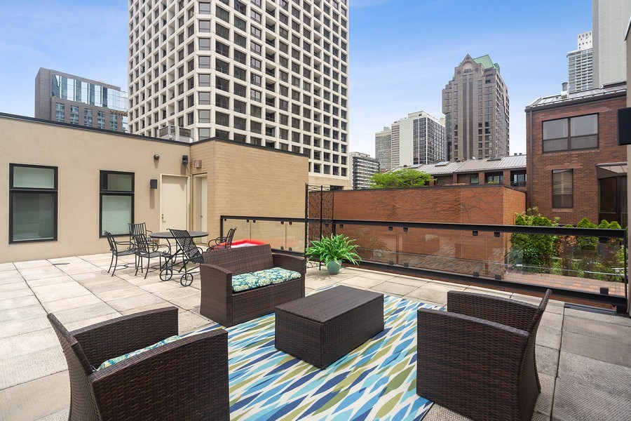 Real Estate Photography - 1011 N Dearborn St, Chicago, IL, 60610 - Terrace (Top level)