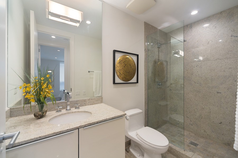 Real Estate Photography - 1011 N Dearborn St, Chicago, IL, 60610 - Bathroom (Entry level)