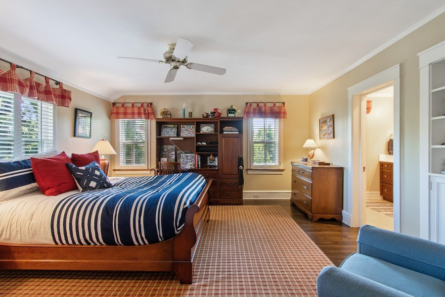 Real Estate Photography - 920 Church, Lake Forest, IL, 60045 - 2nd Bedroom