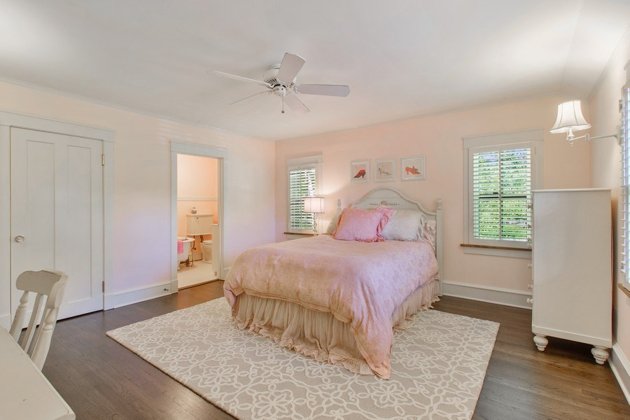 Real Estate Photography - 920 Church, Lake Forest, IL, 60045 - 3rd Bedroom