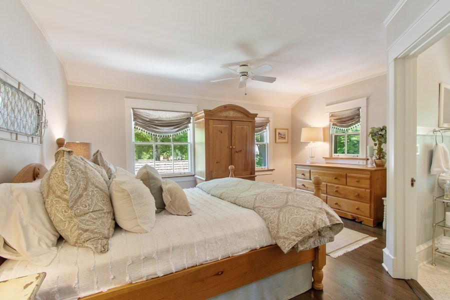 Real Estate Photography - 920 Church, Lake Forest, IL, 60045 - 4th Bedroom