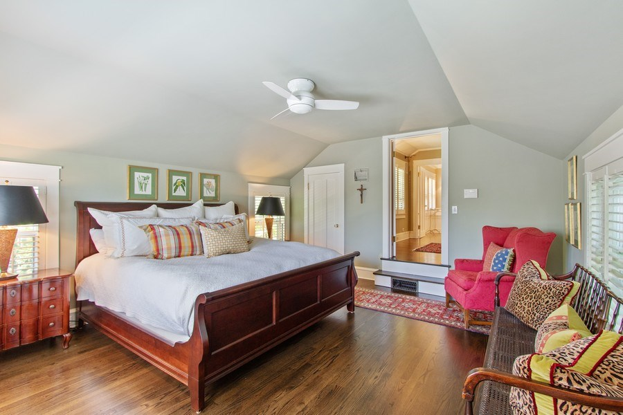Real Estate Photography - 920 Church, Lake Forest, IL, 60045 - Master Bedroom